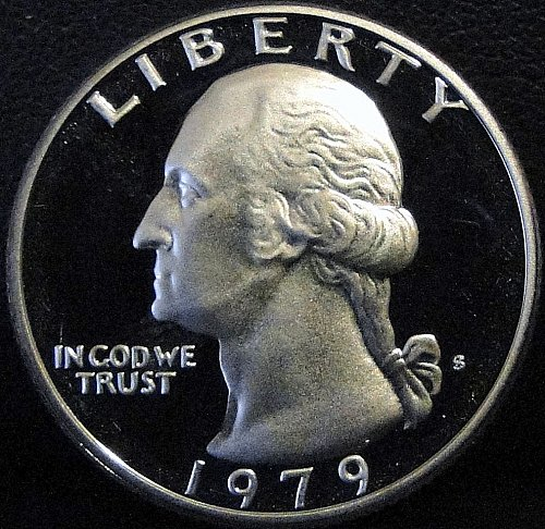 1979-S Clad Proof Washington Quarter - Type 2