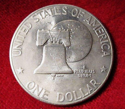 1976 Eisenhower  Silver Dollar Pennsylvania