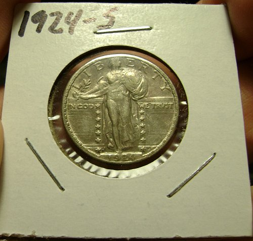 1924-S Standing Liberty Quarter Free Shipping
