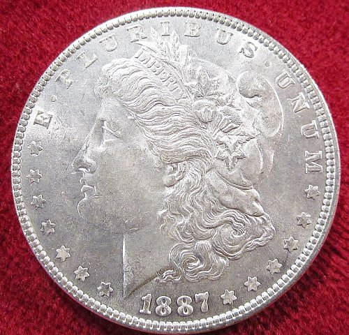 Morgan Silver Dollar uncirculated  Phelidelphia