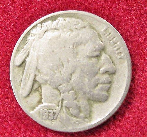 1937 BUFFALO/ INDIAN HEAD NICKLE- PHELIDELPHIA MINT
