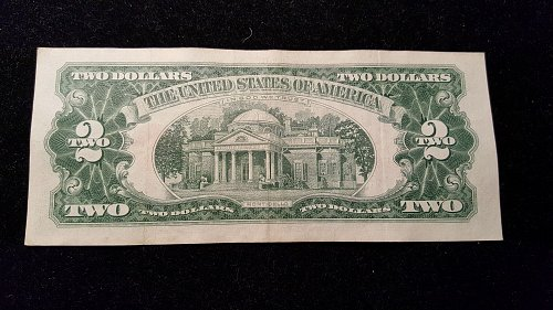 1963 $2 Red Seal  24A