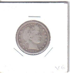 1900 P  BARBER HALF DOLLAR