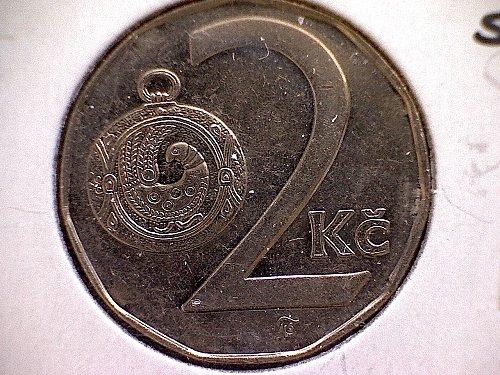 1994-1 CZECH REPUBLIC TWO KORUNY