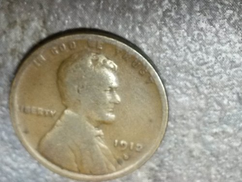 For sale is the Fine to Very Fine 1912 D Lincoln Cent