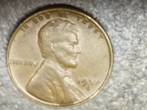 1937 S Lincoln Cent