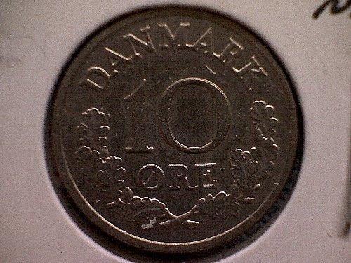 1969 DENMARK TEN ORE