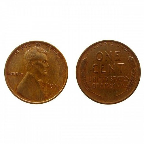 1911 P Lincoln Wheat Cent - AU