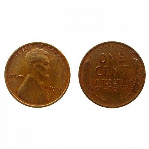 1911 P Lincoln Wheat Cent - AU