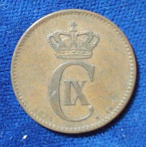1875(h) CS Denmark 2 Ore Fine