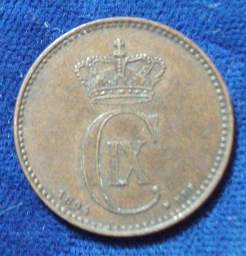1894(h) VBP Denmark 2 Ore VF+