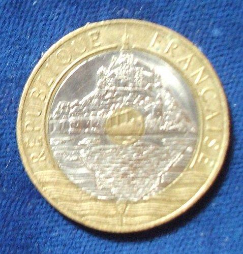 1993 France 20 Francs AU