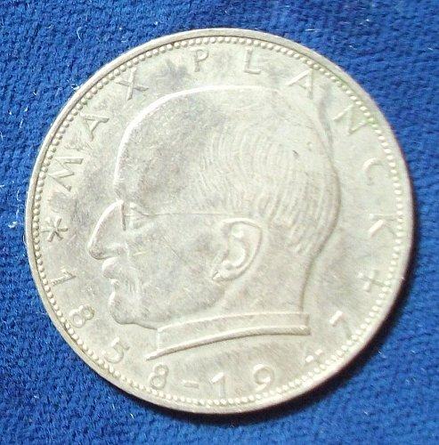 1958J Germany/Federal Republic 2 Mark XF