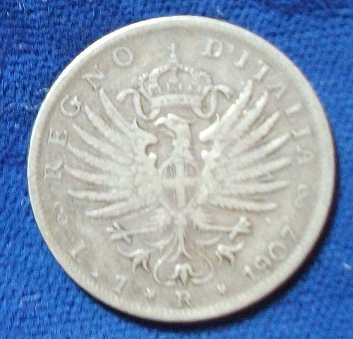 1907R Italy Lira FINE