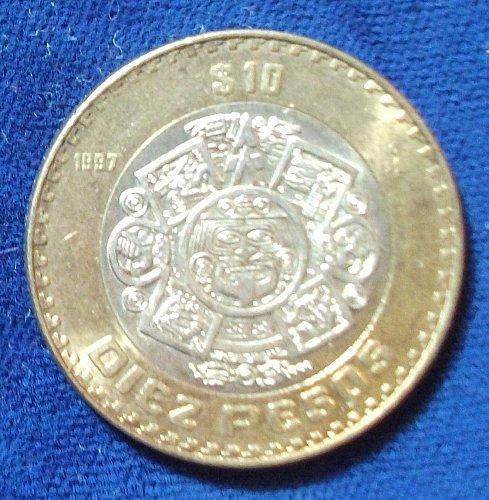 1997 Mexico 10 Centavos UNC