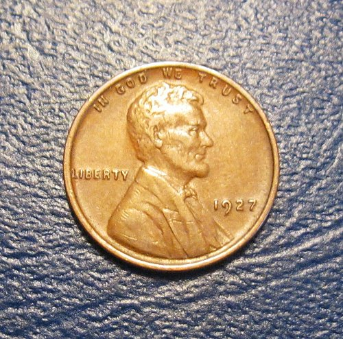 1927 P Lincoln Wheat Cent
