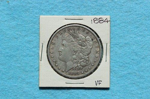 1884P Morgan Dollar