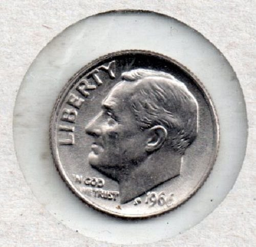 1966p SMS Roosevelt Dime #S1