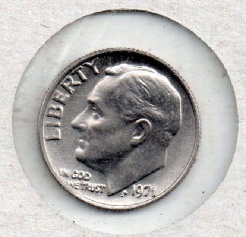 1971p Roosevelt Dime - S1