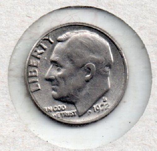 1972d Roosevelt Dime - S1
