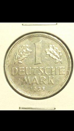 1955-J 1 mark Germany  (key date)