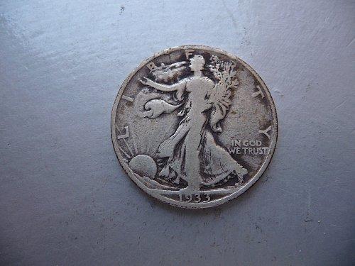 1933-S Waling Liberty Half Dollar
