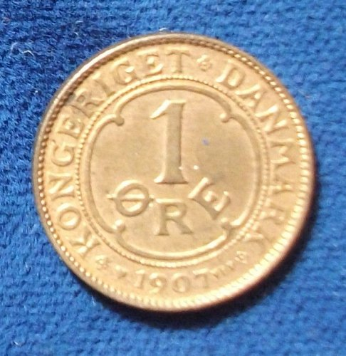 1907 Denmark Ore UNC