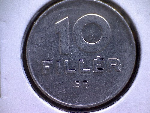 1978-BP  HUNGARY TEN FILLER