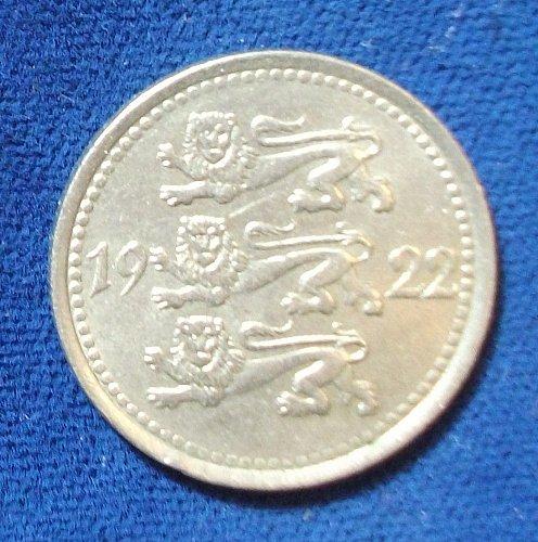 1922 Estonia 5 Marka XF