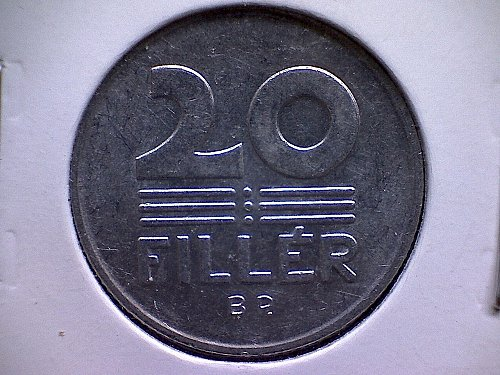 1978-BP HUNGARY TWENTY FILLER