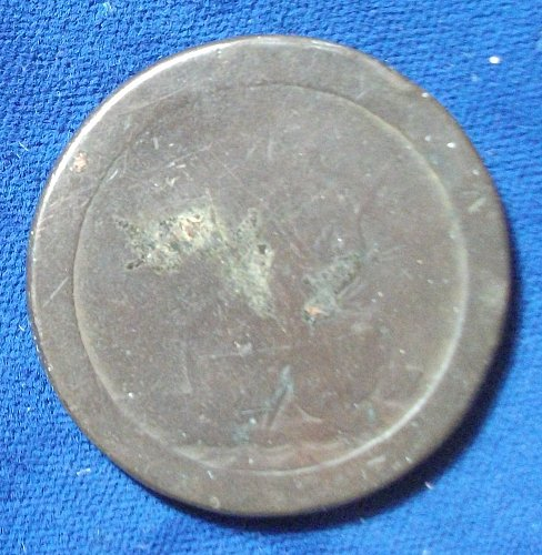 1797 Great Britain Penny Fair/AG