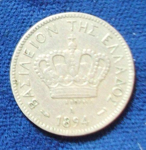 1894A Greece 10 Lepta VF