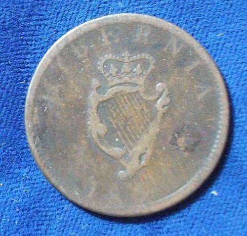 1805 Ireland Halfpenny