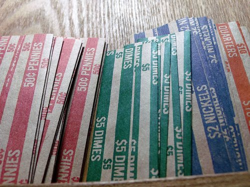 25 Assorted Coin Wrappers