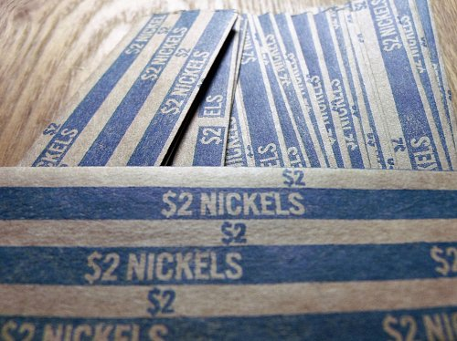 25 Nickel Coin Wrappers