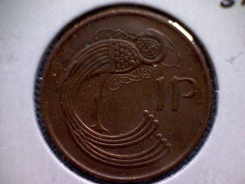 1990 IRELAND  ONE PENNY