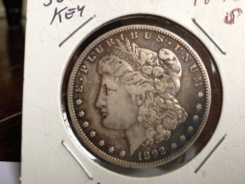 1892-S Morgan Silver Dollar: Semi Key Date – Very Nice Coin