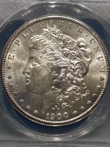1900-S Morgan Dollar ANACS AU-58