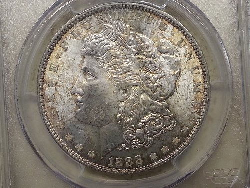 1888 Morgan Dollar PCGS MS-66