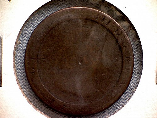 1798  ISLE OF MAN  1/2 PENNY