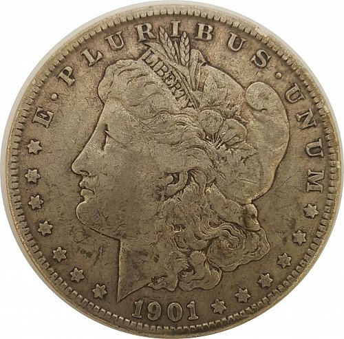 1901 O Morgan Dollars   Early Silver Dollars