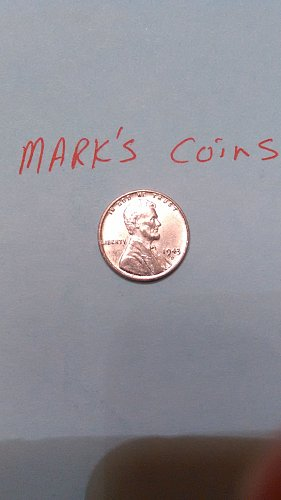 1943 D steel wheat penny (listing 2)