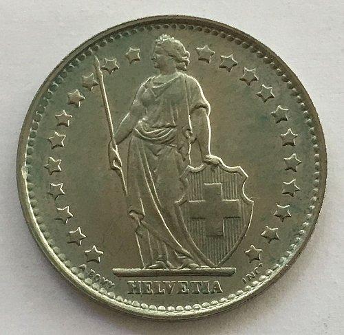 SWITZERLAND 1970  1 FRANC
