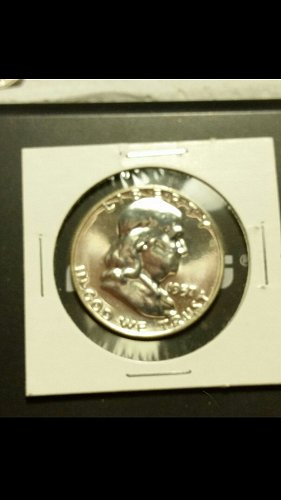1957-P Franklin half dollar (Proof )