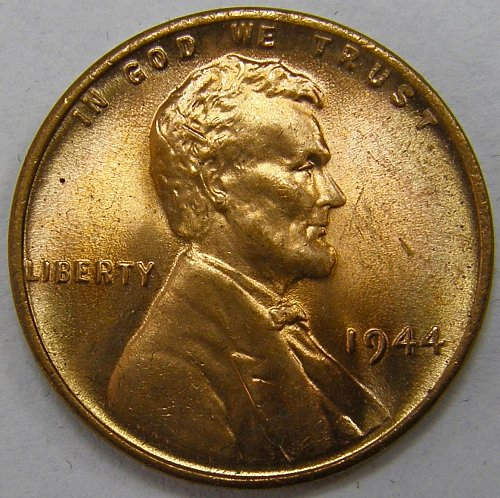 1944 P Lincoln Wheat Cent #5
