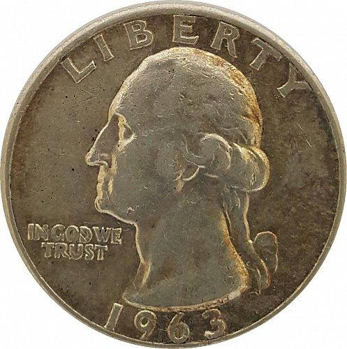 1963 D Washington Quarters | Silver Composition