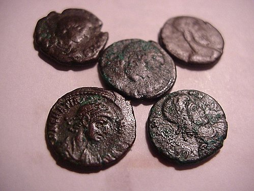 5-ancient coins the real things..wow