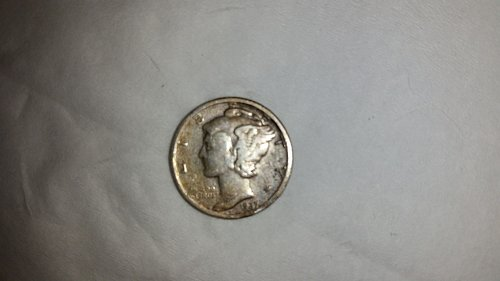 1927d mercury dime