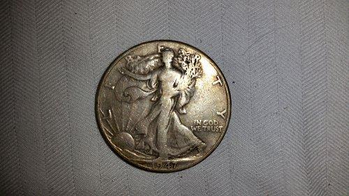 1947d walking liberty