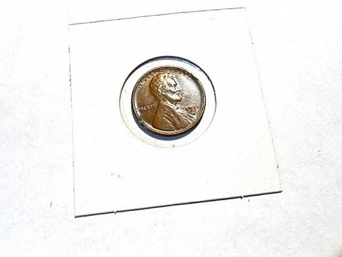 1911-s  lincoln Wheat Cent   AU  Brown